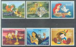 GHANA1994/1995 DISNEY, 6v, MNH - Disney