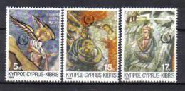 FRZ186 - CIPRO 1986, Serie N. 665/667  ***  Christmas - Non Classificati