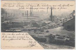 23824g CHARBONNAGES - USINES de SAMBRE et MOSELLE - Montigny-Sur-Sambre - 1905