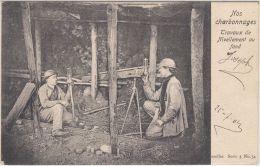 23866g CHARBONNAGES - TRAVAUX de NIVELLEMENT au FOND - Charleroi - 1904