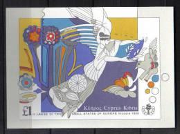 FRZ180 - CIPRO 1989, Il Foglietto N. 15  ***  Giochi - Cipro