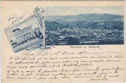 23903g  DIEKIRCH - Hotel De L'Europe - Panorama De La Ville - 1900 - Diekirch