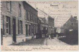 23929g  HOOGSTRAAT - Hamont - 1905 - Hamont-Achel