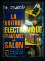 L´AUTOMOBILE #268 Sept.1968 Auto Voiture Car Wagen Sport Course Formule 1 Rallye: Essais RENAULT 8S / FIAT 850 Special ! - Auto/Motor
