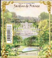 France 2012 - Yv N° F4663 ** - Jardins De France - Domaine National De Saint-Cloud (4663 Et 4664) - France
