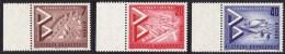 !a! BERLIN 1957 Mi. 160-162 MNH SET Of 3 SINGLES W/ Left Margins -International Construction Exhibition - [5] Berlin