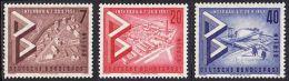 !a! BERLIN 1957 Mi. 160-162 MNH SET Of 3 SINGLES -International Construction Exhibition - [5] Berlin