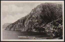 Positano - Panorama E Strada Amalfi Sorrento - Italy