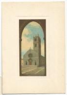 K2425 Alatri (Frosinone) - Chiesa Santa Maria Maggiore - Collezione Campanili D´Italia / Non Viaggiata - Italia