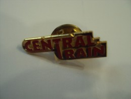 Pin's CENTRAL TRAIN Net 2 Euros - Transports