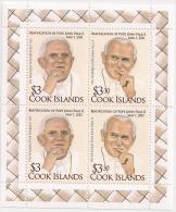 ci120201m/s Cook Is. 2012 Beatification of Pope John Paul II m/s