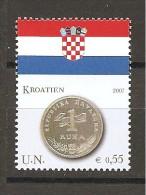 ONU  - 2007 CROAZIA  Bandiera E Monete   Nuovo**  MNH - Stamps