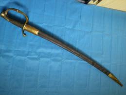 Sabre D´Officier D´infanterie Modele 1821 - Armes Blanches