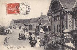 Veules Les Roses 76 - Casino - Cachet Postal 1908 - Veules Les Roses