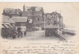 Veules Les Roses 76 - Précurseur Casino - Cachet Postal Paris Place Chopin 1903 - Editeur Vve Ed. M. - Veules Les Roses