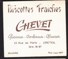Buvard Biscottes CHEVET Créteil - Biscotti