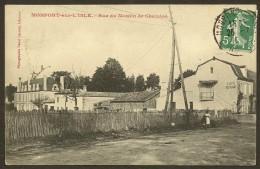 MONTPONT Rare Rue Du Moulin De Chaudos (Lacoste) Dordogne (24) - France