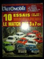 L'AUTOMOBILE #276 1969 Essai CITROEN Ami8 RENAULT 6 SIMCA 5 VOLKSWAGEN 1300 OPEL Kad. DAF FIAT 850 NSU 1000 HONDA AUSTIN - Auto/Motor