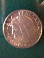 Monete D´ Ag. - Italia - Dante Alighieri - 500 Lire. - Monete