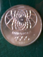 Monete D´ Ag. - Italia - 1000 Lire  -Concordia - 1870-1970. - Monete