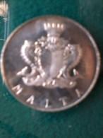 Moneta D´ Argento - Malta - £M 1 - Manwel Dimech - 1972. - Monete