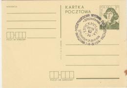 ASTROLOGY, NIKOLAUS COPERNICUS, PC STATIONERY, ENTIER POSTAUX, 1974, POLAND - Astrology