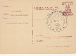 ASTROLOGY, NIKOLAUS COPERNICUS, PC STATIONERY, ENTIER POSTAUX, 1971, POLAND - Astrology