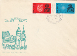 ASTROLOGY, NIKOLAUS COPERNICUS, CONSTELATIONS, COVER FDC, 1972, POLAND - Astrology