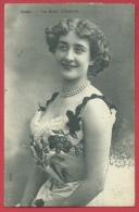 Star D'autrefois - La Belle Eléonore De La Scala - 1912 ( Voir Verso ) - Célébrités