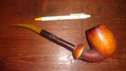 14 V - Jolie Grande Vieille Pipe à Nettoyer - Pipes & Accessoires