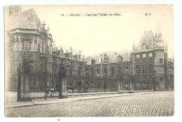 Cp, 59, Douai, Coeur De 'Hôtel De Ville - Douai