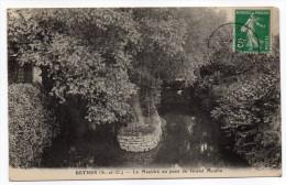 BEYNES-- La Mauldre Au  Pont Du Grand Moulin  éd Renault  ---pas Très Courante - Beynes