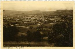 COURS (Rhône) - Vue Générale   ¡Carte Photo! - Cours-la-Ville