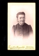 Photographie CDV Femme Photographe Fotografo FANICOTTI BRUGNOLOTTI Corso Campi 5 CREMONA - Anciennes (Av. 1900)