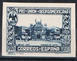 Sello 40 Cts Pro Union Iberoamericana, Sin Dentar, Num 576s * - Nuevos