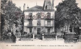 """(03) Bourbon L'Archambault - """"La Roseraie"""", Annexe De L'Hôtel Du Parc - Trés Bon état - 2 SCANS - Bourbon L'Archambault"""
