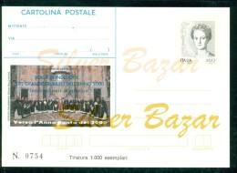 INTERO POSTALE - INTERI POSTALI - CARTOLINA POSTALE - IPZS - I.P.Z.S-ROMA-PAPI-ANNO SANTO-GIUBILEO- - 6. 1946-.. Repubblica