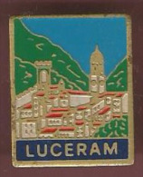 40279-Pin's.Luceram - Cities