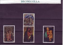 GRENADINES, NAVIDAD 2001, 3102/05, PINT138 - Madonnas