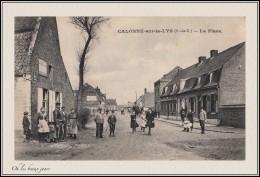 CALONNE-sur-la-LYS - LA PLACE - France