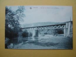 DINANT. Le Pont De Chemin De Fer à Chaleux. - Dinant