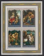 Burundi MNH Scott #C271 Souvenir Sheet Of 4 Christmas - 1970-79: Neufs