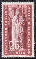 !a! BERLIN 1957 Mi. 173 MNH SINGLE -Congress Of Eastern German Cultural Council - [5] Berlin