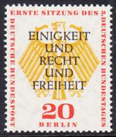 !a! BERLIN 1957 Mi. 175 MNH SINGLE -German Bundestag At Berlin - [5] Berlin