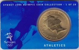 @Y@    Australie  Coincard Commemorative  5 Dollars 2000   1 Van 28 - Sin Clasificación