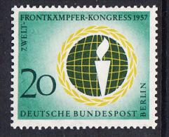 !a! BERLIN 1957 Mi. 177 MNH SINGLE -World-Combatant-Congress, Berlin - [5] Berlin