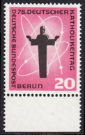 !a! BERLIN 1958 Mi. 180 MNH SINGLE W/ Bottom Margin -German Catholic Convention, Berlin - [5] Berlin