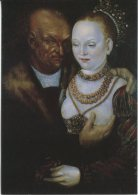Elskovs Kunst Postcard, Illustration By Lucas Crananch - Couples