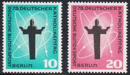 !a! BERLIN 1958 Mi. 179-180 MNH SET Of 2 SINGLES -German Catholic Convention, Berlin - [5] Berlin