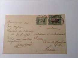 """Belgische Militärpost Im Rheinland 1924: """"ALLEMAGNE / DUITSCHLAND"""" GEILENKIRCHEN 1924 > Lille, France RR! (Brief Lettre"""